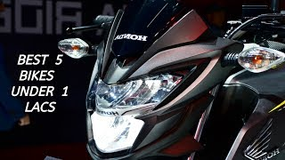 Why These 5 Bikes are very Good To Buy in Under 1 Lacs Ruppees ? | Auto Gyann