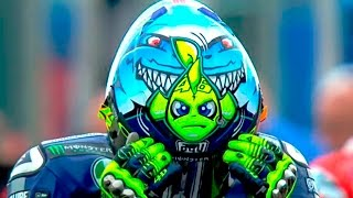 Valentino Rossi - A decade of crazy helmets