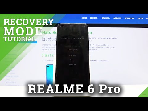 How to Enter to Recovery Mode in REALME 6 Pro – Android System Recovery