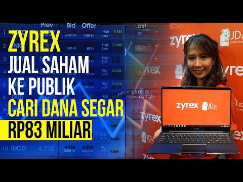 Produsen Laptop Zyrex Bakal Jual Saham Ke Publik