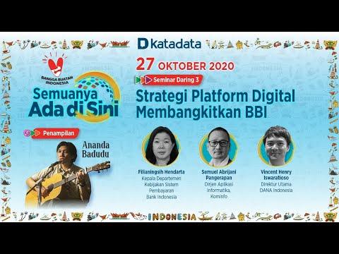 Seminar Daring 3: Strategi Platform Digital Membangkitkan Bangga Buatan Indonesia