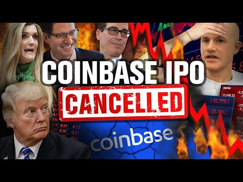 Coinbase IPO: Get Rich Quick PLAN That's Falling APART!!
