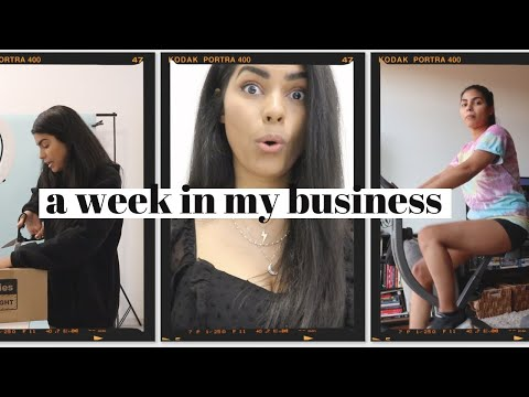 Work Week in My Freelance Life: How I Stay Healthy Working From Home + Prepping for Vlogmas??
