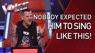 Boy who stutters BLOWS AWAY The Voice coaches | STORIES #30
