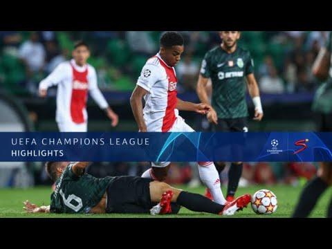UEFA Champions League   Sporting v Ajax   Highlights