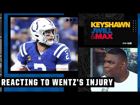 Keyshawn wanted Carson Wentz to play through his ankle injury in the Colts' loss to the Rams   KJM