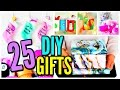 25 DIY CHRISTMAS GIFTS! Gift Ideas 2016