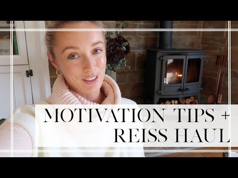 HOW I MOTIVATE MYSELF TO WORK! + Reiss Try On  // Fashion Mumblr Vlogs