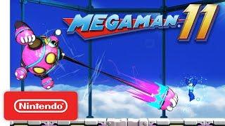 Mega Man 11 - Demo Launch & Bounce Man Reveal Trailer - Nintendo Switch