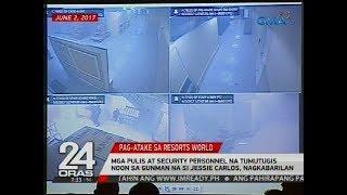Mga pulis at security personnel na tumutugis noon sa gunman na si Jessie Carlos, nagkabarilan