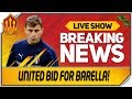 Man Utd 30 Million Barella Bid! Man Utd Transfer News