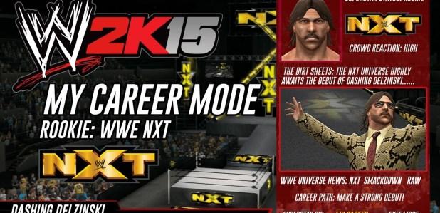 MY CAREER MODE במשחק WWE 2K15. השמועה תהפוך לנכונה?