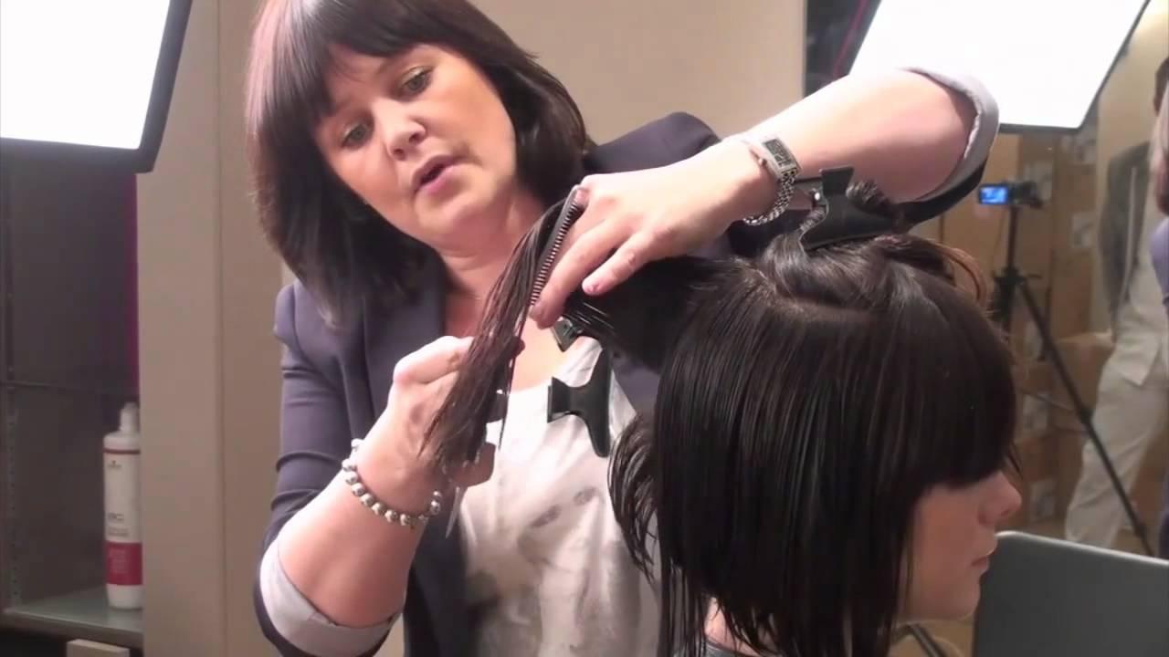 How To Cut Hair Cut A Shag Diagram Trendvee