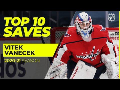 Top 10 Vitek Vanecek Saves from the 2021 NHL Season