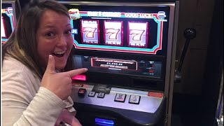 JACKPOT HANDPAY! HIGH STAKES SIZZLING SEVENS, WHEEL OF FORTUNE!