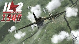 Full IL-2 1946 mission: Me-163 Komet