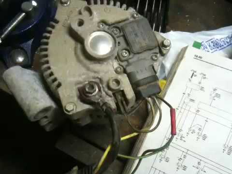 2000 ford f250 super duty wiring diagram saturn stereo alternator questions - youtube