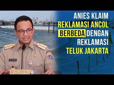 Anies Klaim Reklamasi Ancol Berbeda dengan Reklamasi Teluk Jakarta