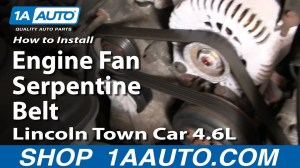Service manual [How To Remove Fan From A 2004 Lincoln Aviator]  Gen 1 00 02 Cooling Fan Removal
