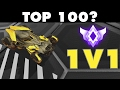 Rocket League | 1v1 Top 100? (Ranked 1v1 Gameplay)