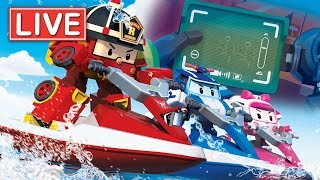 LIVE 🔴 Robocar Poli Season 3,4 | Kids animation