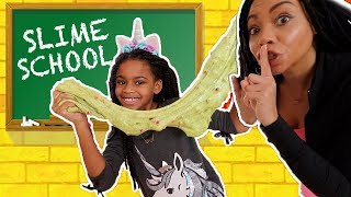Will Naiah and Elli PASS or FAIL Slime School Test Day? New Toy School