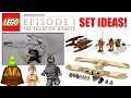 LEGO Star Wars Episode 1: The Phantom Menace Set Ideas! (2018 LEGO Star Wars Set Ideas!)