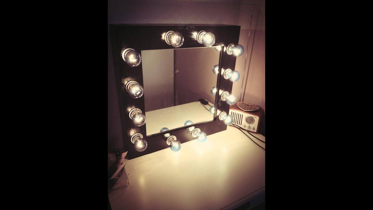 Makeup Vanity Mirror Lights Diy