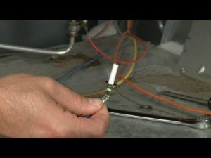 Burner Spark Electrode Replacement – Kenmore Gas Range