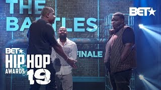 DNA & T-TOP Compete In Fire Rap Battle Finale To Win $25K Cash! | Hip Hop Awards '19