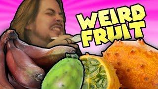 Weird Fruit Taste Test!