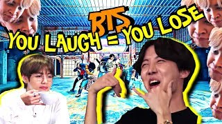 BTS ″You Laugh = You Lose″ Challenge [Ultimate Version]