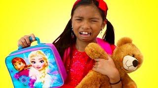 First Day of School Song | Wendy Pretend Play Nursery Rhymes & Kids Songs