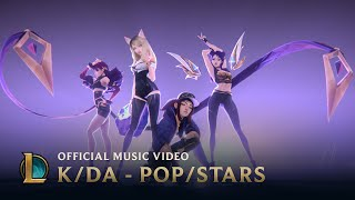K/DA - POP/STARS (ft Madison Beer, (G)I-DLE, Jaira Burns) | Official Music - League of Legends