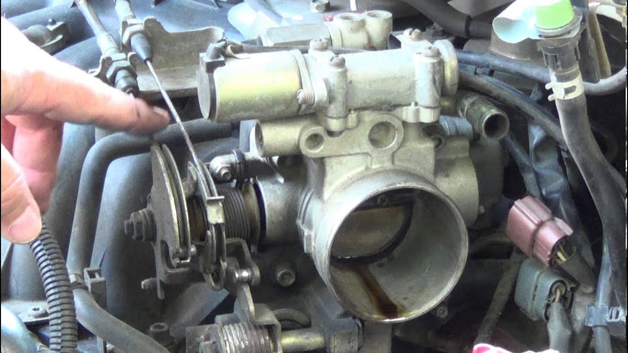 Fuel Filter On 1990 Honda Accord How To Fix A Sticking Accelerator Cable Throttle Body