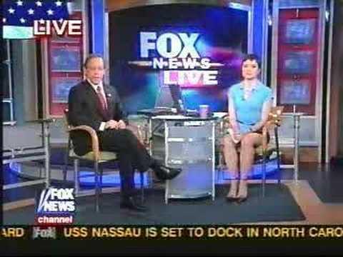 The valuable news anchor upskirt