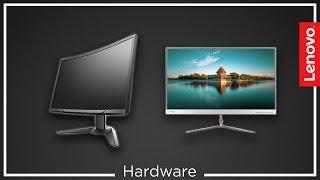 Lenovo L27q vs. Lenovo Y27f - test - recenzja - Hardware na Luzie #39