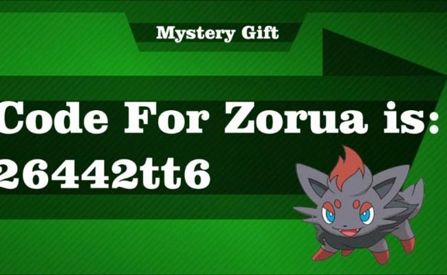 Pokemon Tower Defense 2 Mystery Gift Code For Zorua Ptd 2 1 19 Youtube