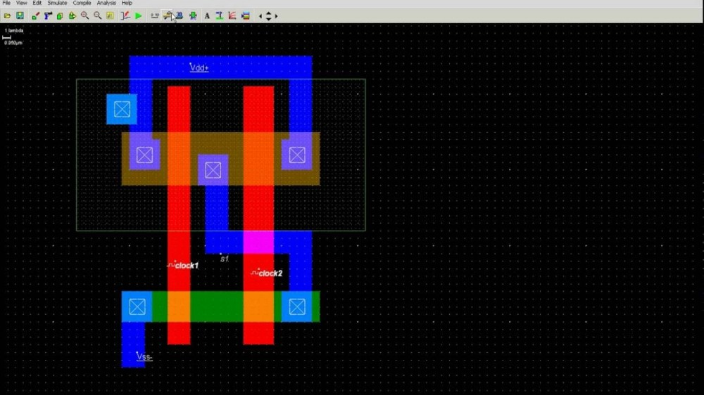 medium resolution of  stick for xor diagram gate gate in to how 2 input layout nand youtube draw microwind