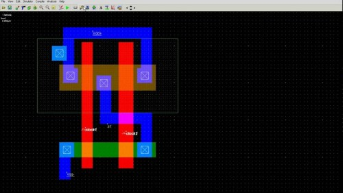 small resolution of  stick for xor diagram gate gate in to how 2 input layout nand youtube draw microwind