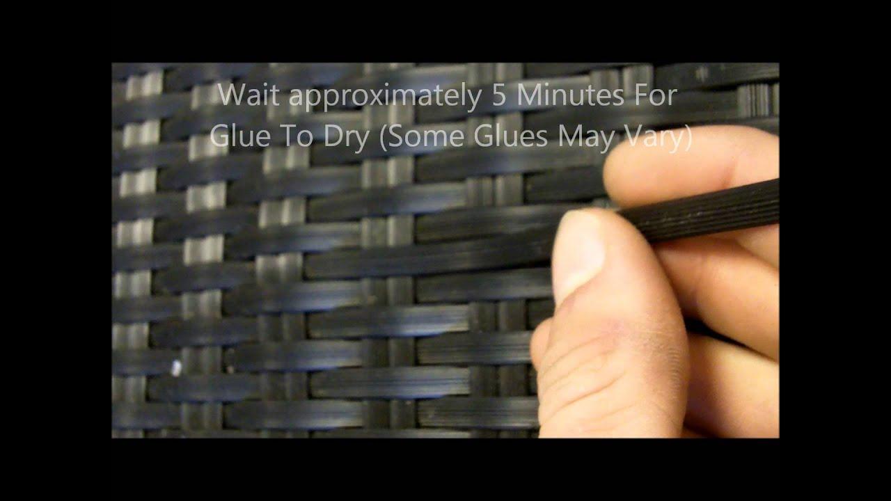 Fixing Rattan Furniture  How To Repair Rattan Furniture