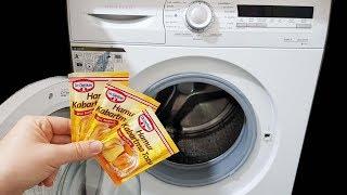 Bunu Biliyorsanız Arkadaşlarınız Sizi Çok Kıskanacak Çamaşır Makinesi Kireç ve Koku Giderme