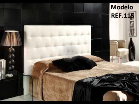 Cabeceros de cama tapizados Sedapiel SL  YouTube