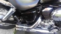 Custom exhaust pipes honda shadow
