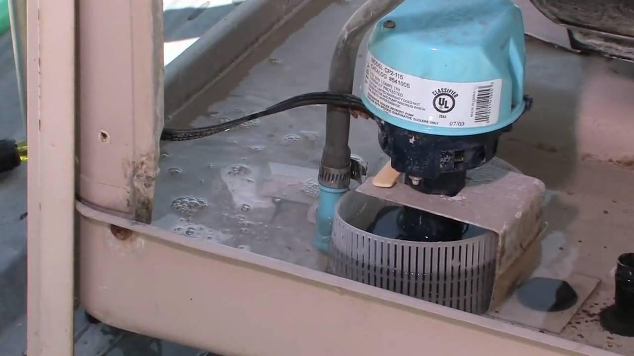 Electric Radiator Fan Wiring Diagram Diy Swamp Cooler Maintenance And Repair Youtube