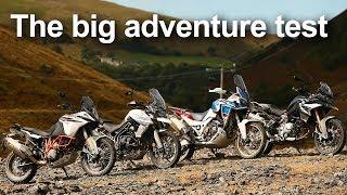 Adventure Bike Test 2018 (under 1100cc): KTM vs Honda vs Triumph vs BMW