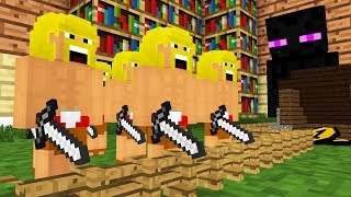 Monster School: Clash of Clans - Cubic Minecraft Animation