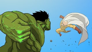 Hulk vs. Saitama Animation (Full Version) -Taming The Beast