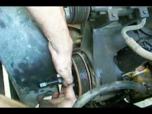 1994 Ford F150, 302, 50 Power Steering Pump and Belt