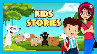 Kids Stories - English Animated Stories For Kids    The Wolf and Seven Little Goats
